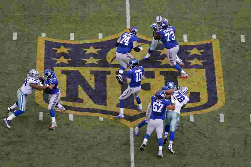Los New York Giants vencieron 27 - 20 a los Dallas Cowboys para romper u...