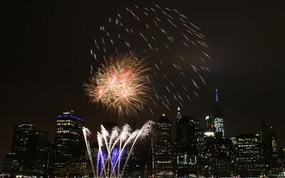 Las mejores celebraciones con fuegos artificiales del 4 de julio