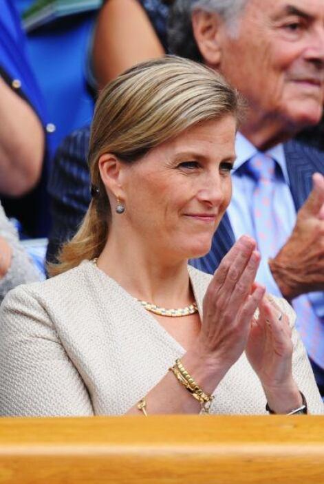 La realeza inglesa presente con Sofía, condesa de Wessex.