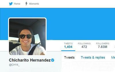 Chicharito se confiesa en Twitter y revela sus deportistas favoritos de...