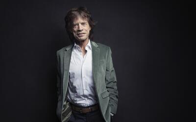 Mick Jagger, de los Rolling Stones, posa para un retrato en Nueva York e...
