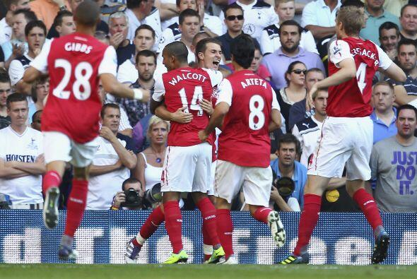 Ramsey marcó otra vez y...