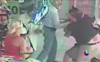 Un violento asalto en Imágenes de Impacto