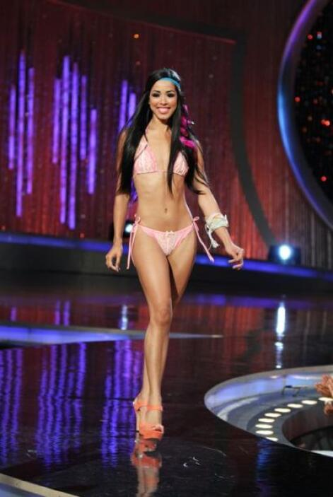 Mira las mejores imágenes de Shalimar durante su paso por Nuestra Bellez...