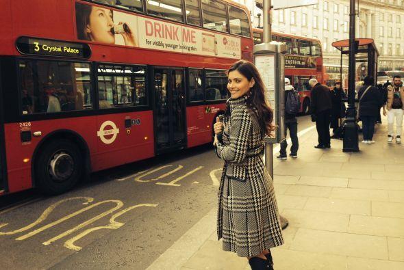 Anteriormente, la conductora de Nuestra Belleza Latina se escapó a Londr...