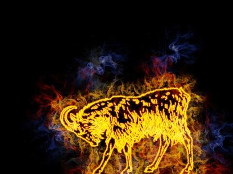 """El Mes de la Oveja """"también llamado de la Cabra -en el hor&o..."""