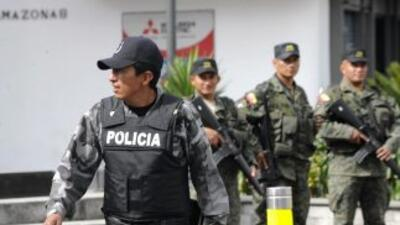 La Policía Antinarcóticos de Ecuador informó este lunes que halló restos...
