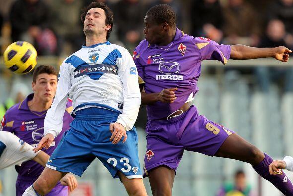 Esta vez, se enfrentó al Brescia.