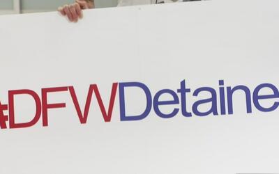 Abogados voluntarios trabajan sin parar en el aeropuerto Dallas-Fort Worth