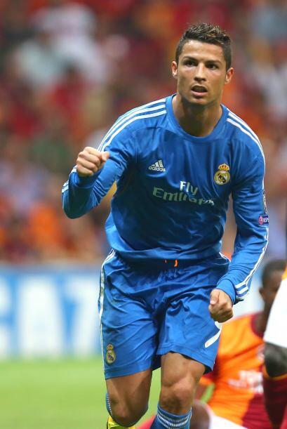 'CR7' empezó a sumar goles para la causa madridista.
