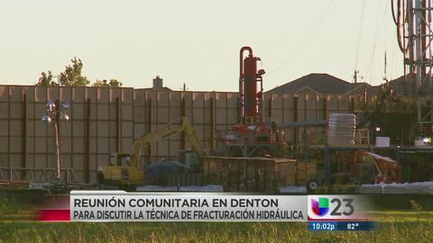 """Fracking"" en Denton se va a plebiscito"