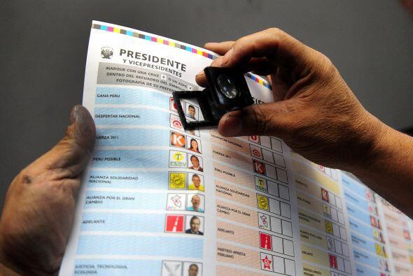 Comenzó este domingo en Perú una crucial elección presidencial en que el...