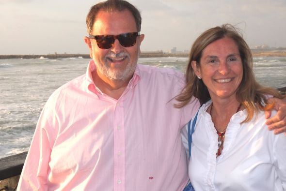 Raúl de Molina consintió a su esposa Mily con un viaje a Tierra Santa, p...