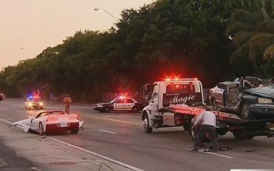 Una persona muerta y dos heridas tras fuerte accidente de tránsito en Mi...
