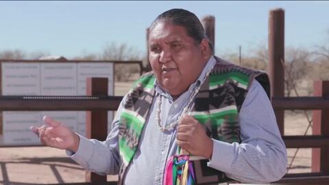 Nación Tohono O'odham promete luchar contra el muro fronterizo