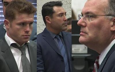 """Saúl """"El Canelo"""" Álvarez y Óscar de la Hoya van a juicio"""
