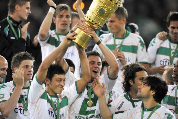 Precisamente fue de lo mejor del club para ganar la Copa de Alemania en...