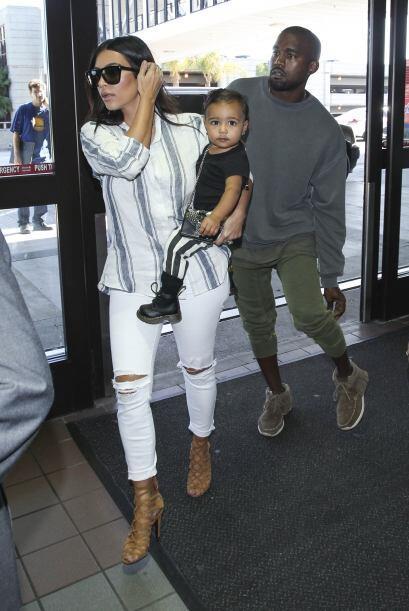 Hay que recordar que Kanye decide sobre el vestuario de Kim.