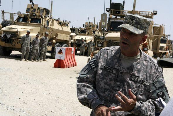 El Ejército de EU en Irak informó hoy de que ha reducido el número de tr...