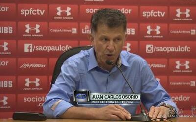 Juan Carlos Osorio se tomará unos días para anunciar su decisión final p...