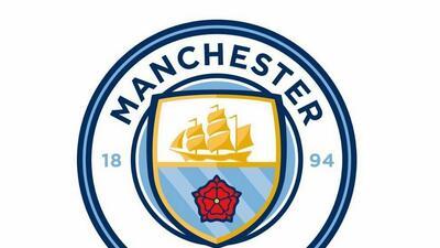 El que sería el nuevo escudo del Manchester City