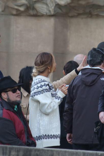 Beyoncé estaba encantada escuchando los detalles de la ciudad. M&...
