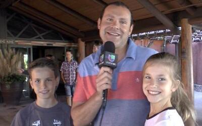 Los hijos de Alan Tacher le desearon un feliz día del padre