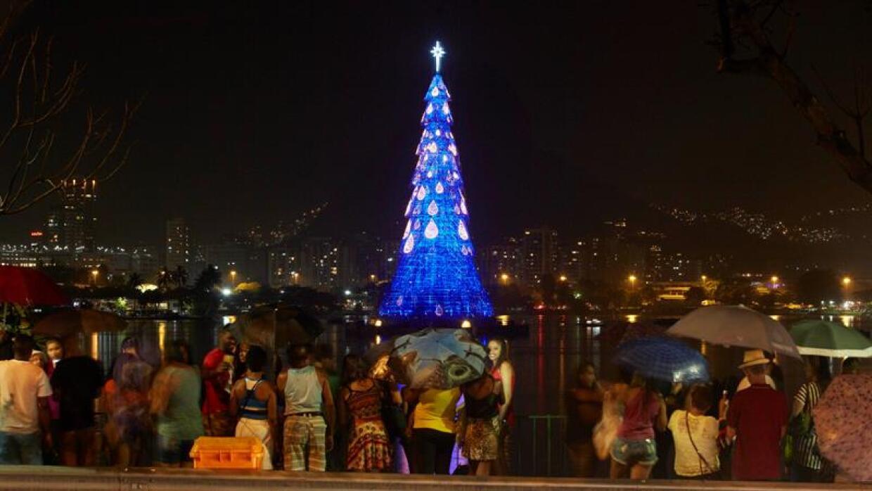 Árbol de Navidad Río de Janeiro