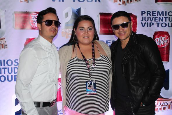 Los fans del PJ VIP Tour en Houston