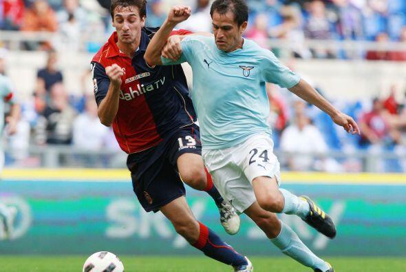 Horas antes, el líder Lazio se enfrentó al Cagliari.