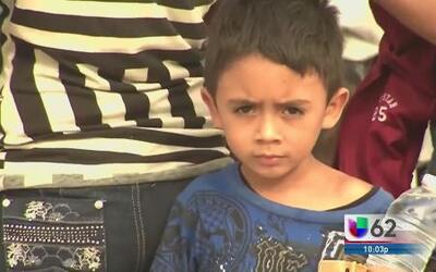 'Juanito' atravesó lo peor en el centro de migración