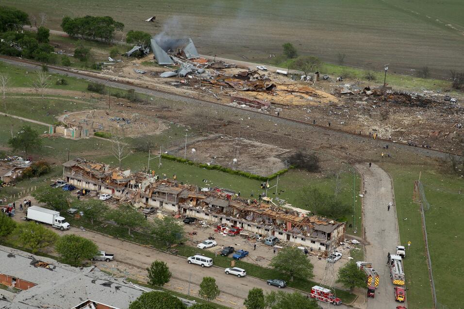 Siniestro dejó más de 160 heridos y al menos 500 casas y escuelas fueron...