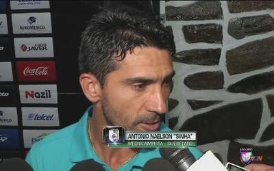 """Antonio Naelson """"Sinha"""": """"El equipo tiene que pensar siempre en ganar"""""""