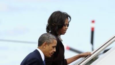 En compañía de Bill y Hillary Clinton, el presidente y su esposa honrará...