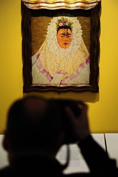El vestuario típicamente mexicano de la pintora Frida Kahlo, que eligió...