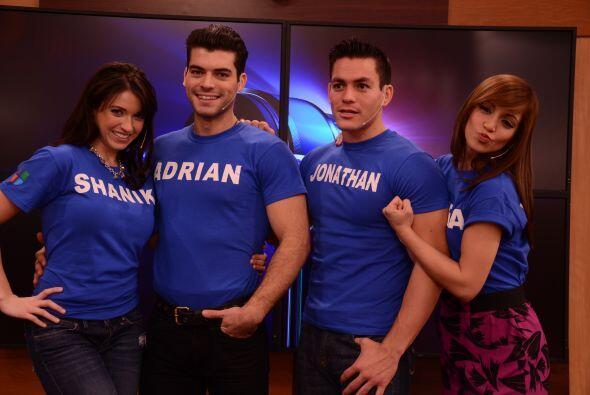Shanik de México, Adrián de Cuba, Jonathan de México y Laura de Puerto R...