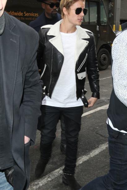 Justin Bieber fue uno de los invitados especiales a la presentaci&oacute...