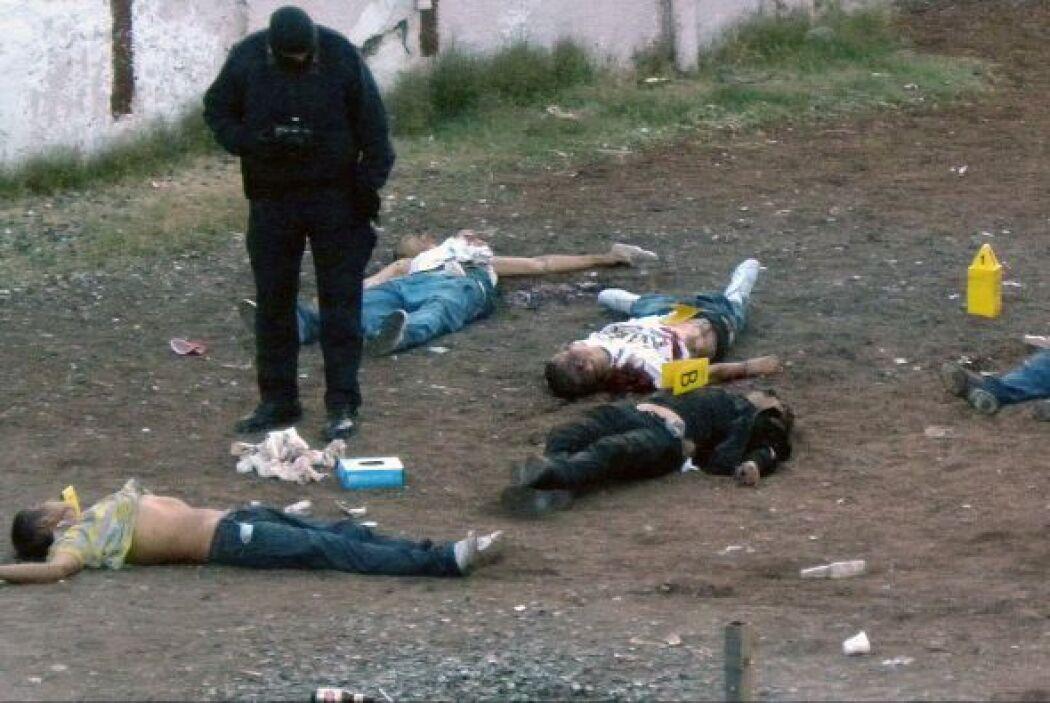 Los asesinatos atribuidos al crimen organizado y el narcotráfico han sup...