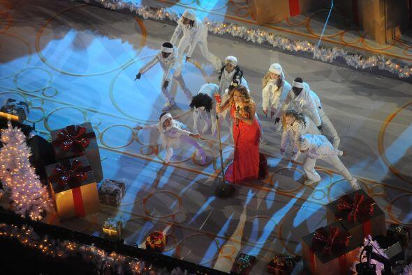 Mariah puso el ambiente para que llegaran otros grandes de la canci&oacu...