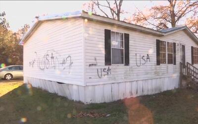 ''Lárguense de USA'': el mensaje racista frente al que despierta cada ma...