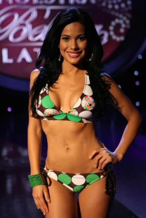 Nuestra Belleza Latina fue su entrenamiento para el certamen.