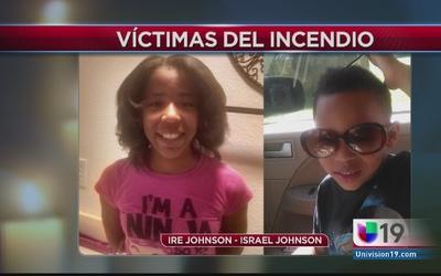 Incendio cobró la vida de dos niños