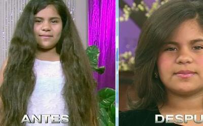 Tiffani donó su cabello y Samy le hizo una transformación