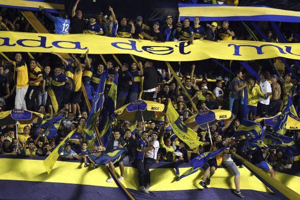 En segundo puesto se encuentran los Xeneizes, Boca Juniors.