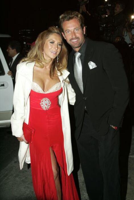 Gabriel  vive otra vez junto a la actriz.