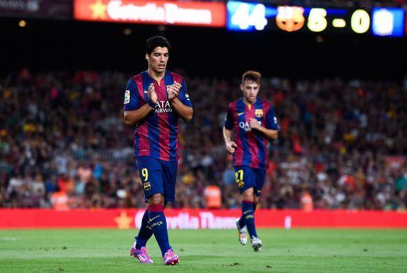 Aún faltaría el sexto gol, obra de Sandro Ramíres,...