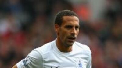 Rio Ferdinand con QPR.