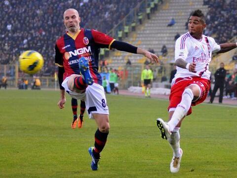 La fecha 14 de la Serie A italiana 2011-12 le daba la posibilidad al Mil...