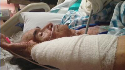 Una anciana fue estrangulada en el hospital al entrar a emergencias