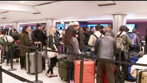 Más de 4 millones de pasajeros viajarán a través del Aeropuerto Internac...